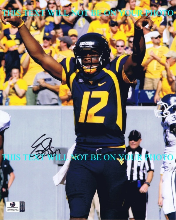 EUGENE GENO SMITH 2 AUTOGRAPHED PHOTO, GENO SMITH SIGNED, GENO SMITH AUTO